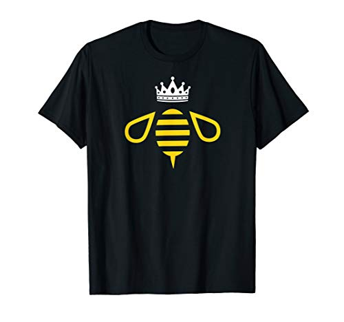 Queen B / Queen Bee With a Crown and Bumblebee Graphic