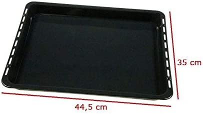 MarelShop/®-Leccarda teglia forno per Candy-Hoover-Zerowatt 350x445mm