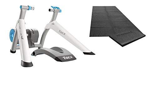 Tacx Vortex Smart Ergotrainer with Electro Brake (Trainer with Mat and Sweat Net, ()