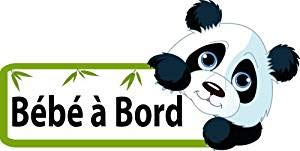 Panda Bébé à Bord Stickers Autocollant 15cm Baby Bebe Cadeau Naissance Board … bearn 64