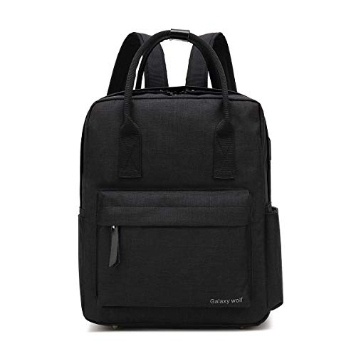 aptop Backpack Business Anti Theft Computer Bag with USB Charging Port Headphone Hole, Waterproof Backpack for Students, Men, Women 14 inch Notebook Computer Notebook ()