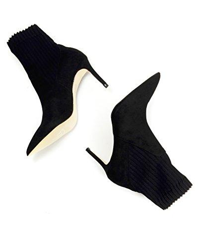 39 Zara Femmes Bottines 6074201 Chaussettes Combinées f0pX1