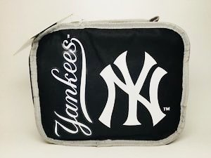 The Northwest Company MLB New York Yankees Sacked Lunchbox, 10.5-Inch, Navy by The Northwest Company