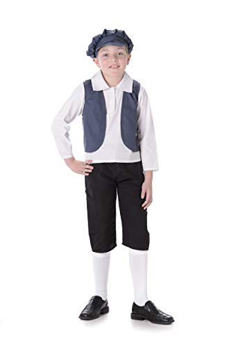 Boy's Victorian Boy Costume, for Halloween Costume Party Accessory, Small