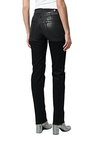 Aawdn0013001 Cotone Donna Nero Jeans Alyx qa1wfZ1