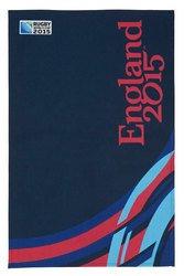 Hoop Rugby - Rugby World Cup Hoops Blue Cotton Tea Towel