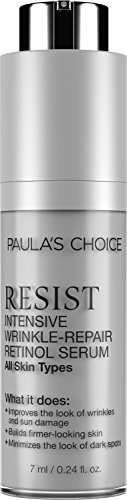 Paula's Choice RESIST Intensive Wrinkle-Repair Retinol Serum with Vitamin C for Wrinkles and Uneven Skin Tone - Travel Size