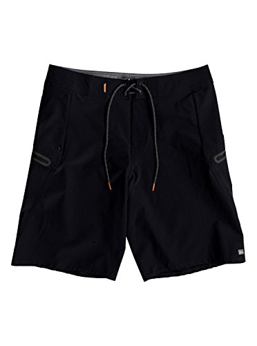 Quiksilver Waterman Men's Paddler Boardshort Swim Trunk 20, Black, 36 by Quiksilver