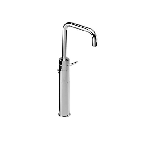 Jado 832/701/100 IQ Vessel Monoblock Faucet with Drain, Polished Chrome