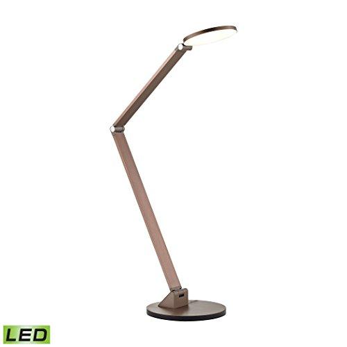 Elk Lighting DLL300-95-85 Dimond Lighting Cobra LED Desk Lamp, 7