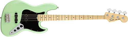 Fender American Performer Jazz Bass - Satin Surf Green w/Maple Fingerboard