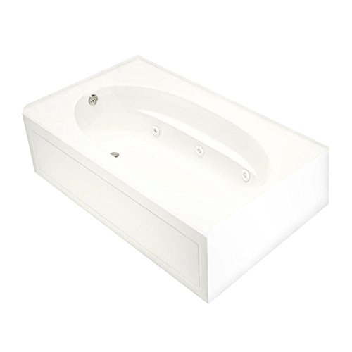KOHLER K-1112-LA-0 Windward 5-Foot Whirlpool, White