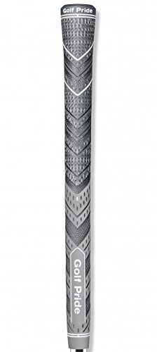Golf Pride Grips - Golf Pride MCC Plus4 New Decade MultiCompound Golf Grip, Standard, Gray