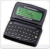 Motorola T900 2-Way Pager with - Pagers Motorola