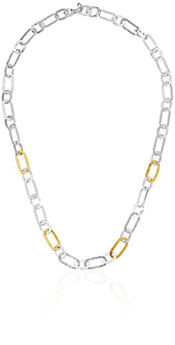 GURHAN Mango Sterling Silver Hammered Link Chain Necklace, 18