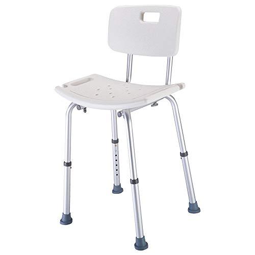 Elderly Adjustment Bathtub Bath Bathroom Tub Shower Seat Chair Bench S