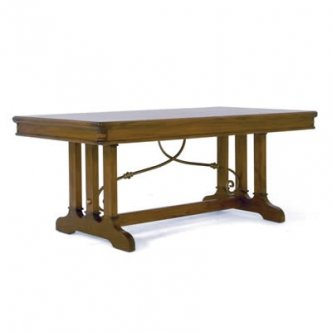 Zocalo Furniture Toscana 72in Extending Dining Table TS001