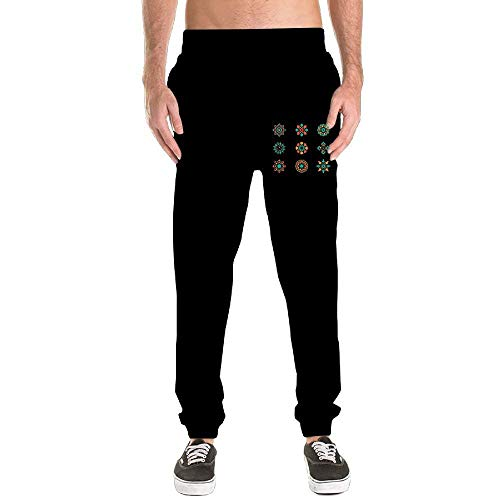 Ping 3 Irons - An Ping Mens Arabesque Graphic Leisure Sports with Pockets Sweatpants