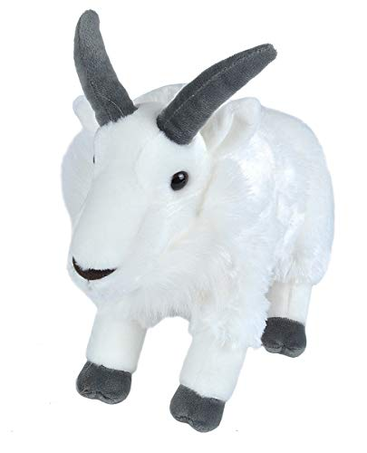 Wild Republic Mountain Goat Plush, Stuffed Animal, Plush Toy, Gifts for Kids, Cuddlekins 12 - Childrens Pillows Republic Wild