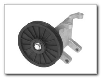 Motormite A/C Compressor Bypass Pulley for 1990-88 Nissan Sentra, 1989-88 Nissan Pulsar (34219) (88 A/c Bypass Pulley)