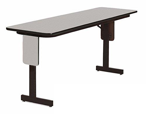 - Correll SP1860PX-15 High Pressure Laminate Classroom, Training or Seminar Table with Folding Panel Leg, Rectangular, 18