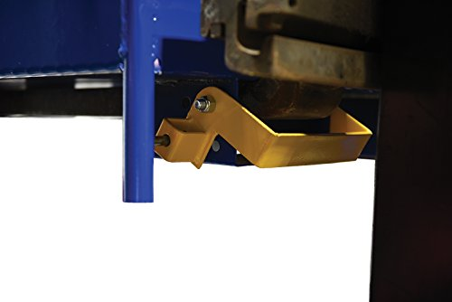 Vestil WP-3636-DD Steel Work Platform, 1000 lb Capacity, 36'' x 36'' with Double Doors, Powder Coat Blue, not for use in California by Vestil (Image #5)