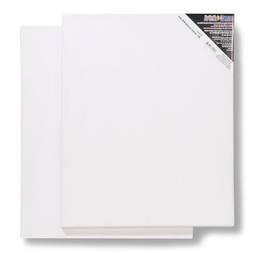 -Inch Stretched Canvas, 2-Pack (16 In Stretched Canvas)