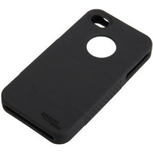 AmazonBasics Silicone Case and Screen Protectors for iPhone 4 4S