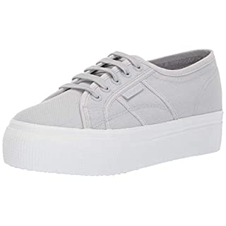 Superga womens 2790 Acotw Platform Fashion Sneaker, Full Grey Ash, 10 US