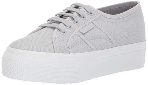 Superga Women's 2790 ACOTW Sneaker Full Grey ash 39 M EU (8 US)