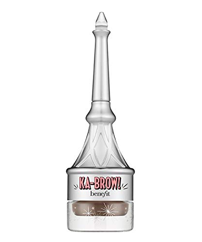 Benefit Ka Brow Cream Gel Color with Brush, 6 (Deep), 0.1 Ounce