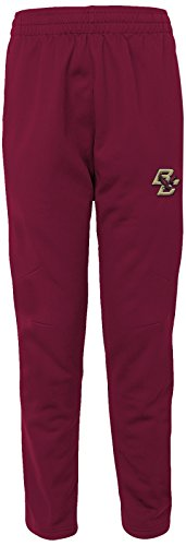 "NCAA by Outerstuff NCAA Boston College Eagles Men's ""First String"" Field Pant, Burgundy, Men's Large"