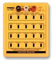 TENMA 72-7265 CAPACITOR DECADE BOX, 100PF-11.111MF 50V