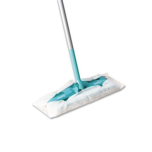"Swiffer Sweeper Sweeper Mop, 10"" Wide Mop, Green - Includes three per case. by Swiffer Sweeper"