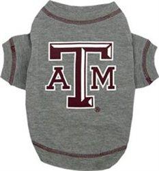 Texas A&M Aggies Dog Tee Shirt (Medium)