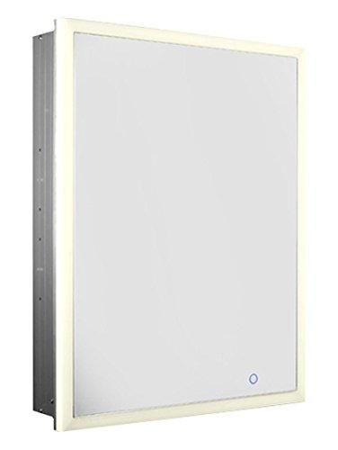 whitehaus collection whlun7055-ir clóset de medicinas, alumin