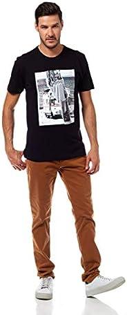 Camiseta Estampada, Forum, Masculino