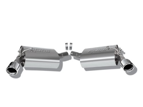 Borla 11776 Rear Section Exhaust Kit - CAMARO '10 3.6L V6 AT/MT RWD 2DR