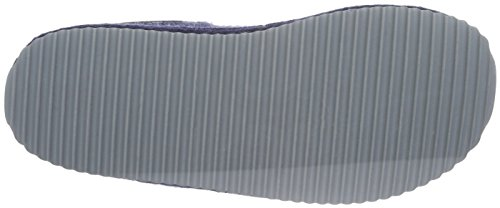 Haflinger Smart - Zapatilla de estar por casa Unisex adulto Azul - Blau (Jeans 72)