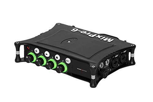 Sound Devices MixPre-6 II Portable 32-Bit Float Multichannel Audio Recorder/Mixer, and USB Audio Interface