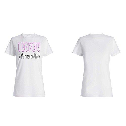 Te amo regalo perfecto divertido de la novedad camiseta de las mujeres a53f