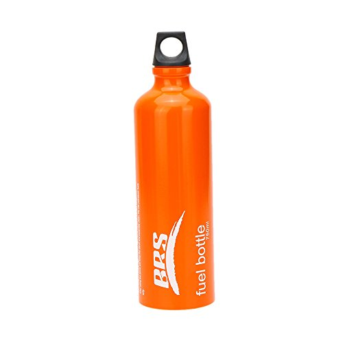 Walmeck Outdoor Camping Petrol Diesel Kerosene Alcohol Liquid Gas Tank Fuel Storage Bottle 530ml/750ml