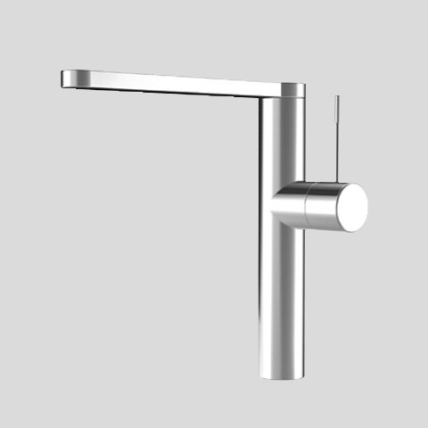 KWC Faucets 10.151.413.000 ONO Kitchen Faucet, Swivel Spout, Chrome by KWC Faucets