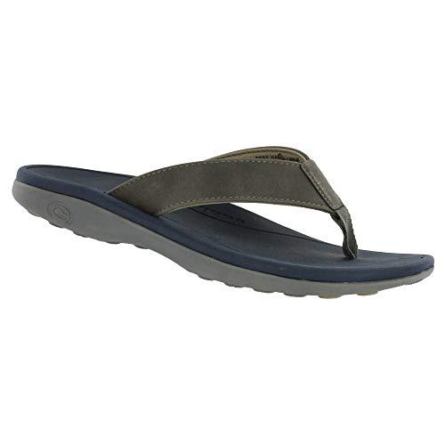 Cobian Mens Sumo Flip Flops 9 Charcoal Grey ()