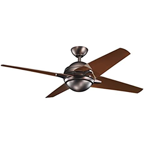 Kichler 300170OBB Ceiling Sunburst Fan 52