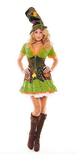 Elegant Moments Racy Ragamuffin Costume Dress Adult Large 10-14