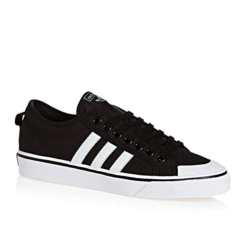 nizza trainers black white