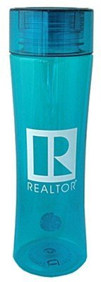 REALTOR® Logo Branded 24 oz. Plastic Water Bottle - BPA Free