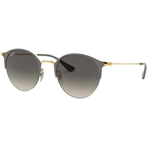 Ray-Ban RB3578 Sunglasses,50mm,Gold Top On Grey/Grey Gradient Dark Grey (Ray Ban 3578)