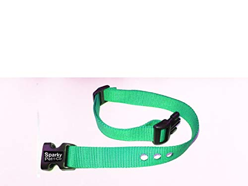 Sparky Pet Co 3/4″ RFA 68 Compatible Basic/Deluxe Bark Replacement 3 Consecutive Hole Dog Bark Collar (Teal)